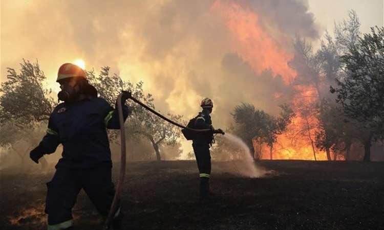 ΓΓΠΠ: Σήμα για πολύ υψηλό κίνδυνο πυρκαγιάς σε 9 περιοχές την Τετάρτη