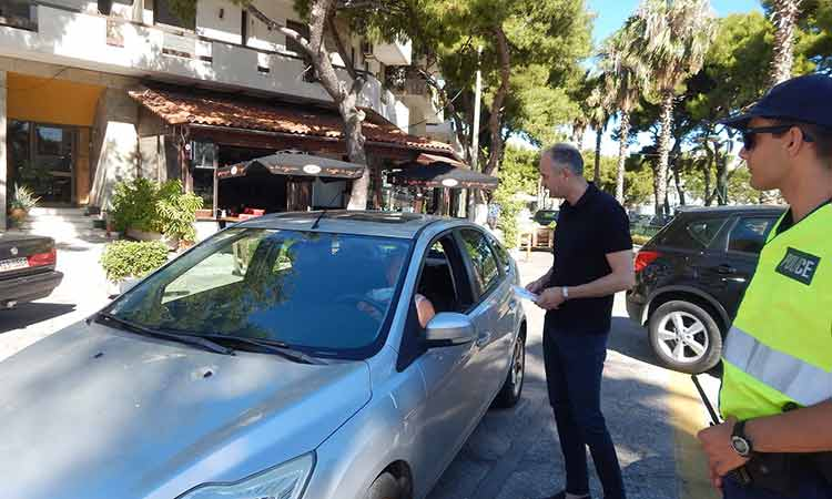 Ενημερωτικό υλικό για ασφαλή οδήγηση διένειμε ο Δήμος Μεταμόρφωσης