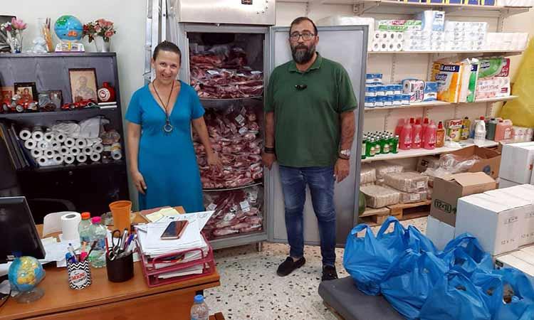 Ολοκληρώθηκε επιτυχώς η δεύτερη διανομή επισιτιστικής βοήθειας ΤΕΒΑ στον Δήμο Αμαρουσίου