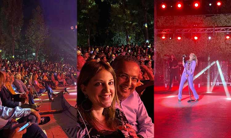 Σε μεγάλα κέφια ο Ηλ. Αποστόλοπουλος στην έναρξη του Φεστιβάλ Παπάγου – Χολαργού