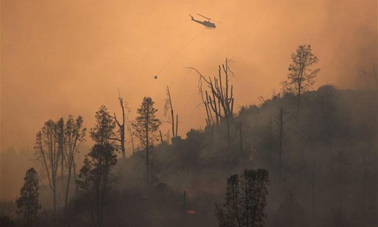 Καλιφόρνια: Οι πυροσβέστες αγωνίζονται να θέσουν υπό έλεγχο τις καταστροφικές πυρκαγιές