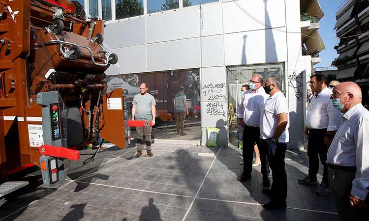 Το Χαλάνδρι ένας ακόμη σταθμός στο… οδοιπορικό ανακύκλωσης της Περιφέρειας Αττικής