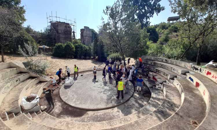 Ολοκληρώθηκε με επιτυχία ο καθαρισμός του Αδριάνειου Υδραγωγείου στον Δήμο Νέας Ιωνίας