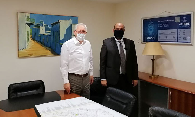 Για ποια θέματα του Αμαρουσίου ενημέρωσε τον βουλευτή Ι. Φωτήλα ο δήμαρχος Θ. Αμπατζόγλου