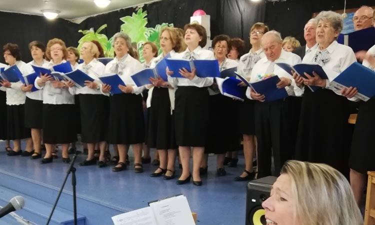 Η Μικτή Πολυφωνική Χορωδία 60+ του Δήμου Χαλανδρίου συμπλήρωσε έξι χρόνια δημιουργίας και προσφοράς