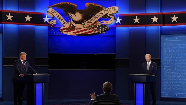 Σφοδρή αντιπαράθεση στην πρώτη τηλεμαχία Τραμπ – Μπάιντεν