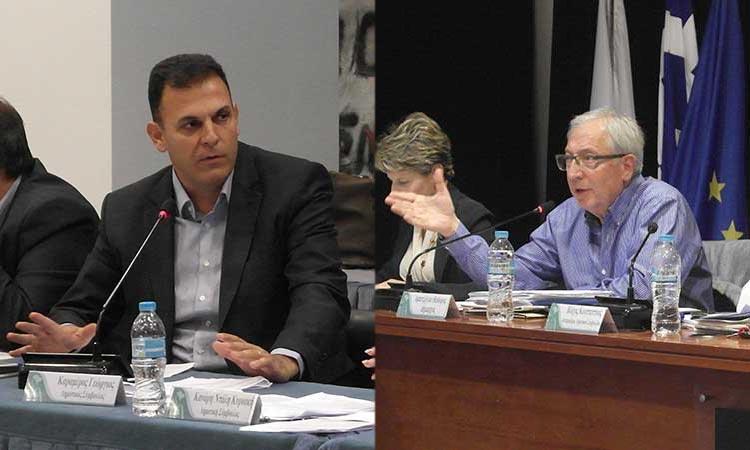 Γ. Καραμέρος και Θ. Αμπατζόγλου σε θέση… μάχης ενόψει της νέας δημοτικής περιόδου