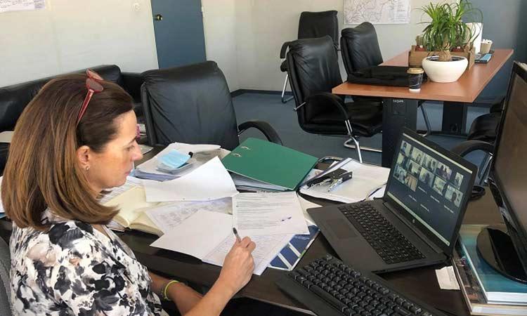 Τηλεδιάσκεψη υπό τον συντονισμό της Π.Ε. Βόρειου Τομέα για τον προσυμπτωματικό έλεγχο της Covid-19