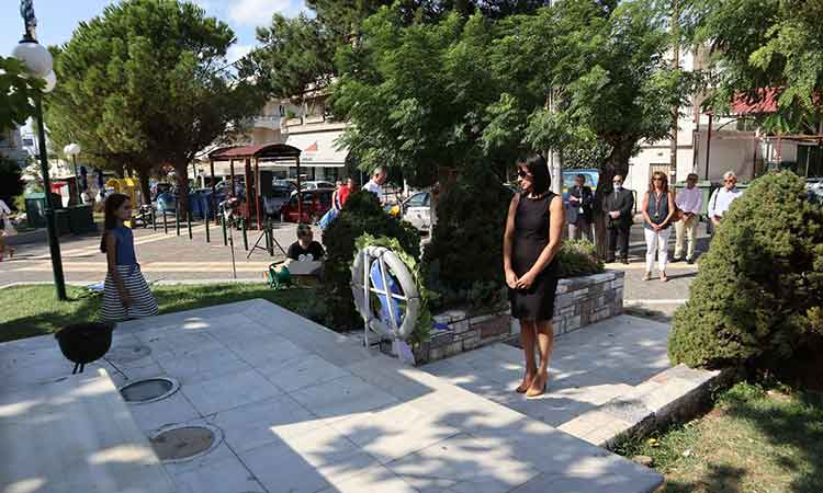 Στην εκδήλωση μνήμης για τη Γενοκτονία των Ελλήνων της Μικράς Ασίας η δήμαρχος Πεντέλης