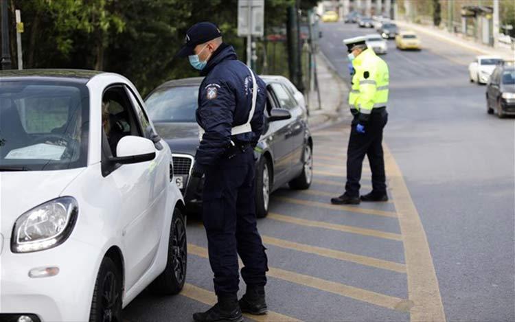 Κορωνοϊός: 4 συλλήψεις ο απολογισμός ελέγχων στο 24ωρο