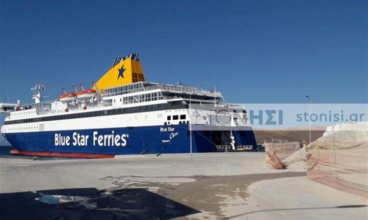 Λέσβος: Στο Σίγρι το πλοίο που θα φιλοξενήσει 1.000 άτομα από τη Μόρια