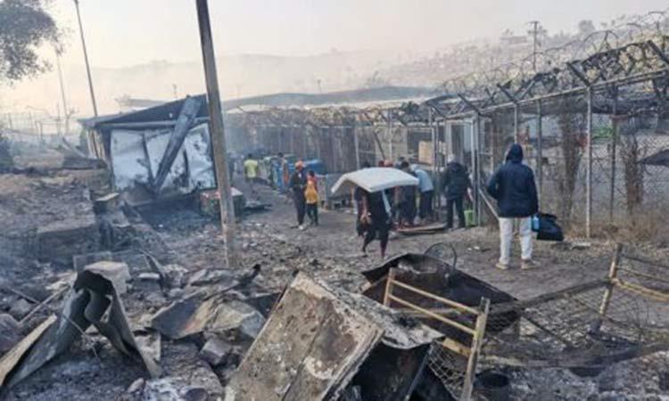 Δύναμη Ζωής: Οι Έλληνες πολίτες να σταθούν στο πλάι των πληγέντων μεταναστών της Μυτιλήνης