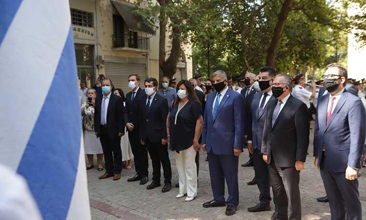 Στις εκδηλώσεις για την Ημέρα Εθνικής Μνήμης της Γενοκτονίας των Ελλήνων της Μ. Ασίας ο περιφερειάρχης Αττικής