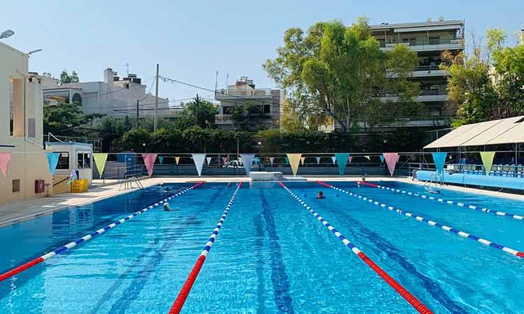Απόλυτα ασφαλές και νόμιμο του κολυμβητήριο στο Αθλητικό Κέντρο του Δήμου Φιλοθέης-Ψυχικού