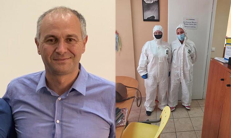 Οι δράσεις της διοίκησης μετά τον εντοπισμό κρούσματος Covid-19 στον Δήμο Μεταμόρφωσης