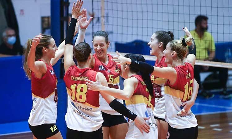 Εκτός έδρας νίκη των Αμαζόνων Ν. Ερυθραίας στην 3η αγωνιστική της Volley League Γυναικών