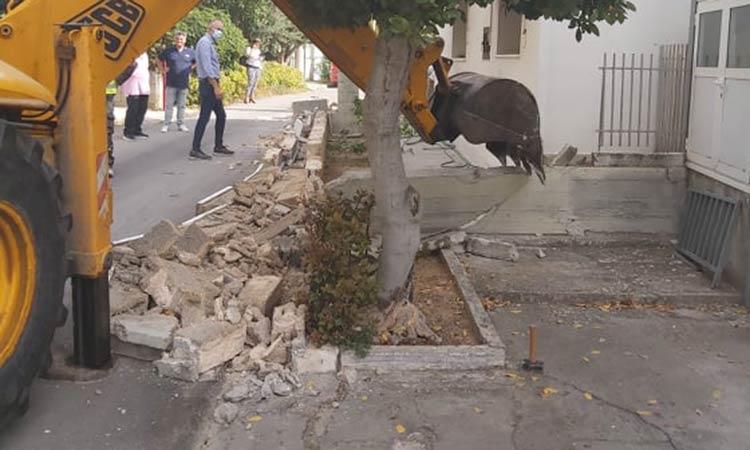 Διανοίχθηκε η οδός Ασκληπιού στον Δήμο Μεταμόρφωσης