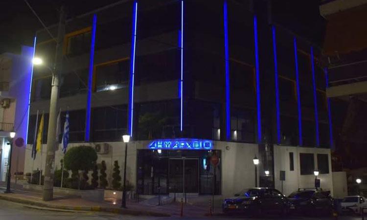 Στα μπλε του… ΟΗΕ το δημαρχείο Νέας Ιωνίας