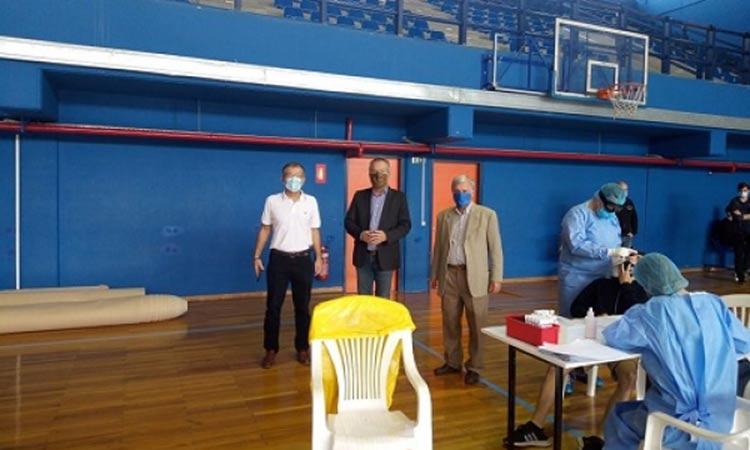 Τεστ Covid-19 σε αθλητές των σωματείων του Δήμου Παπάγου-Χολαργού με πρωτοβουλία του ΔΟΠΑΠ