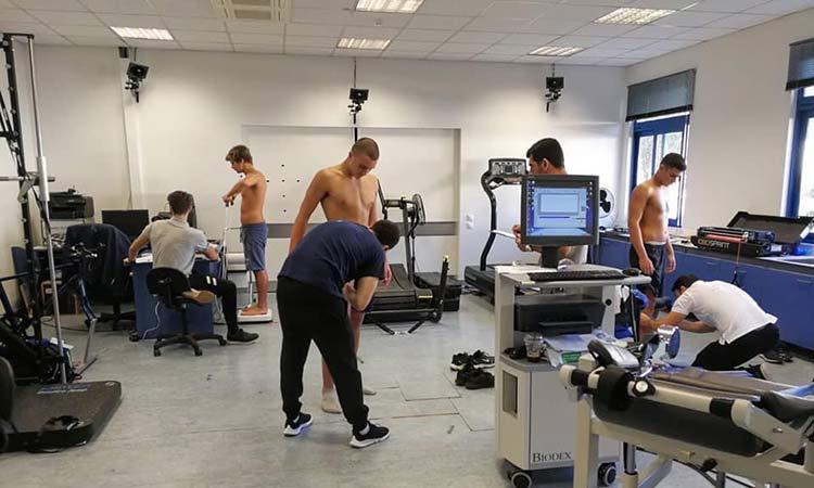 Εργαστηριακές αξιολογήσεις αθλητών του Futsal του ΑΣΕ Δούκα από το Sports Excellence της Α' Ορθοπεδικής Πανεπιστημιακής Κλινικής του ΕΚΠΑ