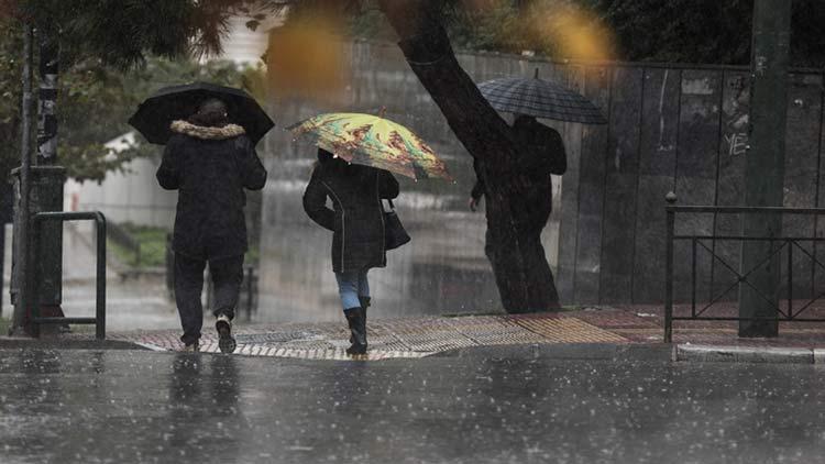 Έκτακτο δελτίο επιδείνωσης του καιρού: Καταιγίδες και χαλάζι την 28η Οκτωβρίου