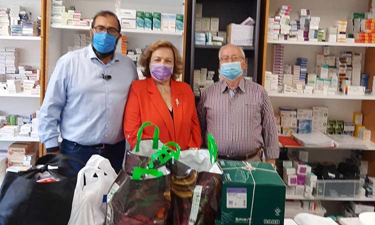 Υγειονομικό υλικό & φάρμακα από την Τ.Ο. Νέας Δημοκρατίας στο Κοινωνικό Φαρμακείο Δήμου Αμαρουσίου