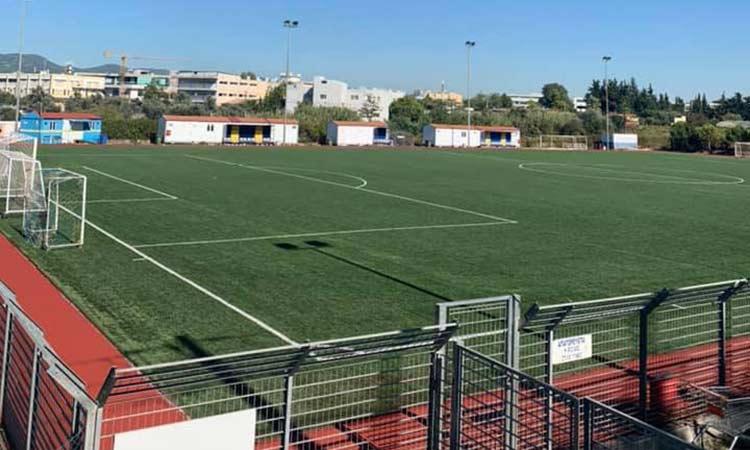 Ολοκληρώθηκε ο ανακατασκευή του γηπέδου ποδοσφαίρου Λυκόβρυσης-Μεταμόρφωσης