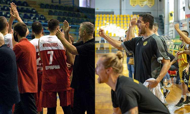 Εκτός έδρας νίκες για Μαρούσι και Πανερυθραϊκό στην 3η αγωνιστική της Α2 μπάσκετ Ανδρών