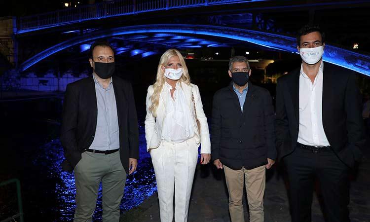 Οι Δήμοι μέλη του Δικτύου SDG 17 Greece αγκάλιασαν την πρωτοβουλία «Φωτίζουμε την Ευρώπη με το Μπλε των Ηνωμένων Εθνών»