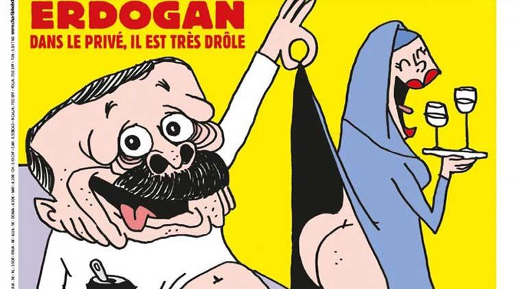 Οργή στην Άγκυρα για τη σάτιρα του «Charlie Hebdo» σε βάρος του προέδρου Ταγίπ Ερντογάν