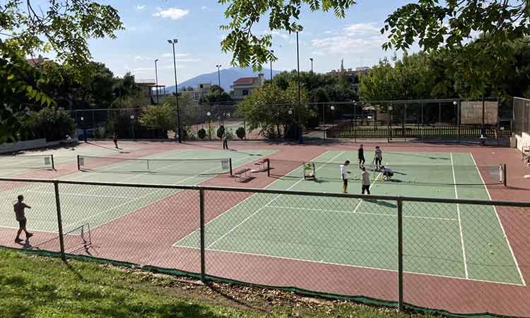 Δήμος Πεντέλης: H μίσθωση των γηπέδων τένις φέρνει ετήσια έσοδα πάνω από 50.000 ευρώ