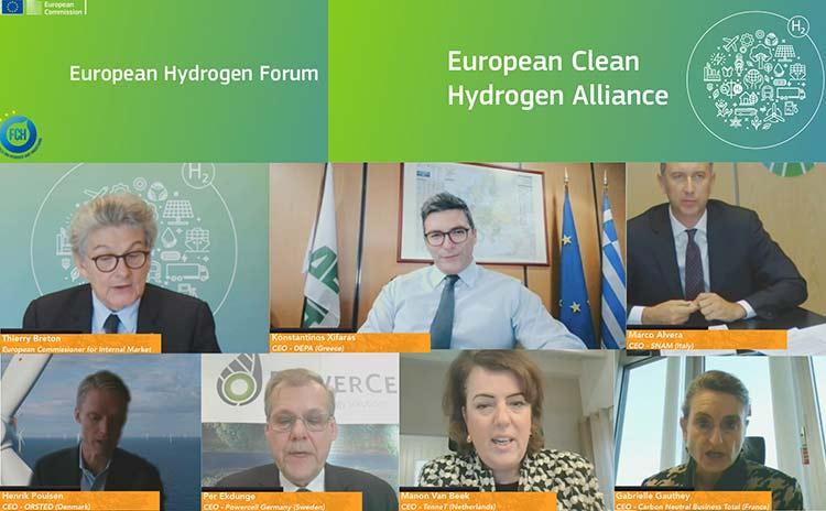 Ο δ/νων σύμβουλος της ΔΕΠΑ Εμπορίας στο Ευρωπαϊκό Φόρουμ Υδρογόνου