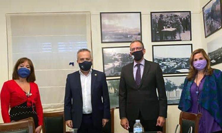 Ενδεχόμενη συνεργασία Ελληνικού Ιδρύματος Πολιτισμού και Δήμου Παπάγου-Χολαργού