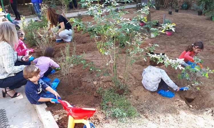 Από ένα φυτό φύτεψαν και υιοθέτησαν τα παιδιά του 7ου Παιδικού Σταθμού Δήμου Αγίας Παρασκευής