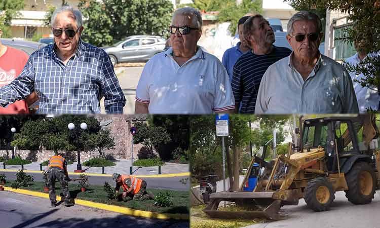 Στους δρόμους επτά ημέρες την εβδομάδα τα συνεργεία Καθαριότητας και Πρασίνου του Δήμου Αμαρουσίου