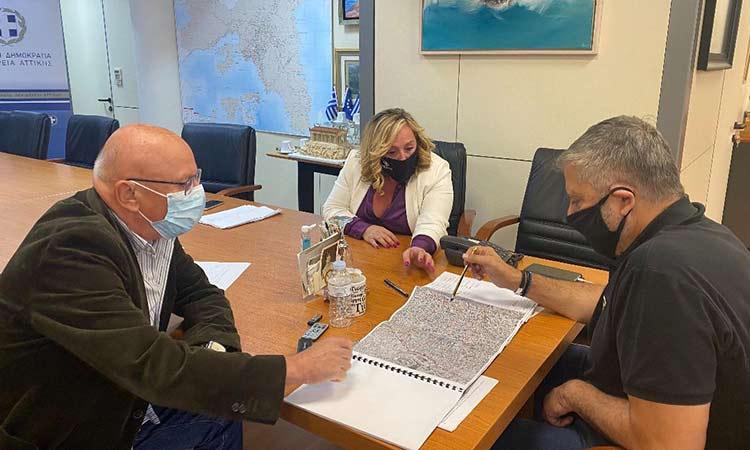 Προχωρά η μελέτη για την αντιπλημμυρική προστασία της ευρύτερης περιοχής του παλαιού οικισμού Αχαρνών