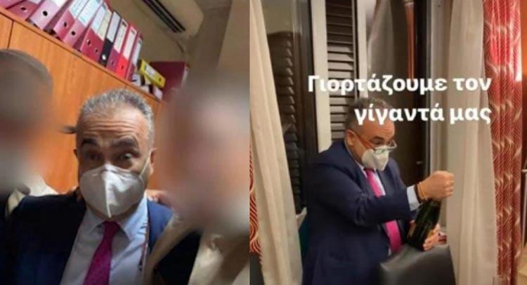 «Σεισμός, σεισμός, Δημήτρης Βερβεσός»: Αντιδράσεις για το «πάρτι» του προέδρου του Δικηγορικού Συλλόγου Αθηνών