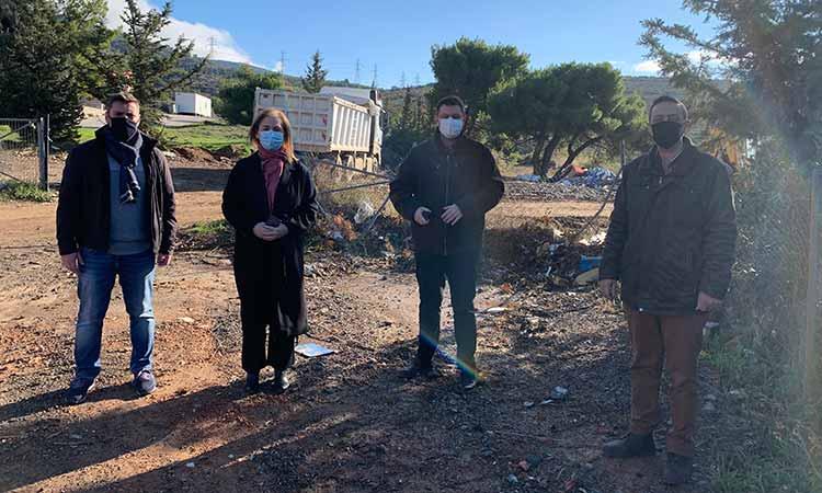 ΟΧΙ στον ΣΜΑ στα Μελίσσια από βουλευτές του ΣΥΡΙΖΑ-Π.Σ. που επισκέφθηκαν τον χώρο – Βίντεο