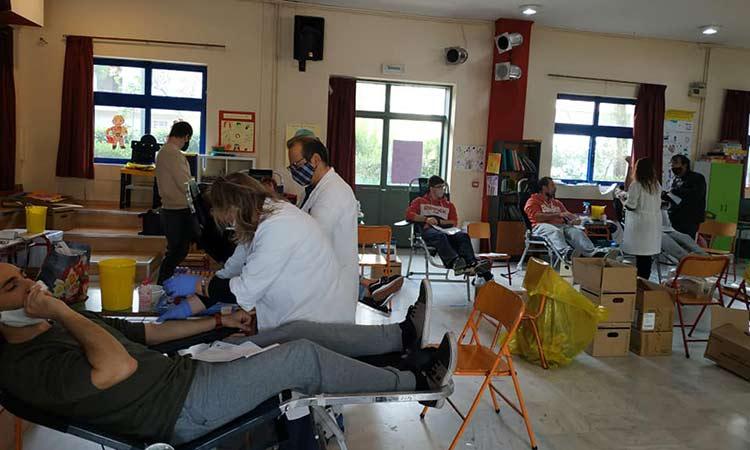 78 φιάλες αίματος συγκεντρώθηκαν στην εθελοντική αιμοδοσία του ΟΚΠΑΔΒ