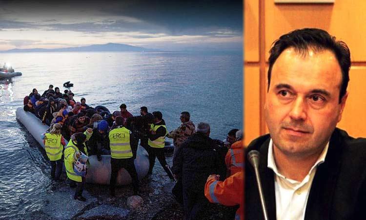Δ. Παπαστεργίου: Η Τ.Α. σηκώνει μεγάλο βάρος στο μεταναστευτικό-προσφυγικό