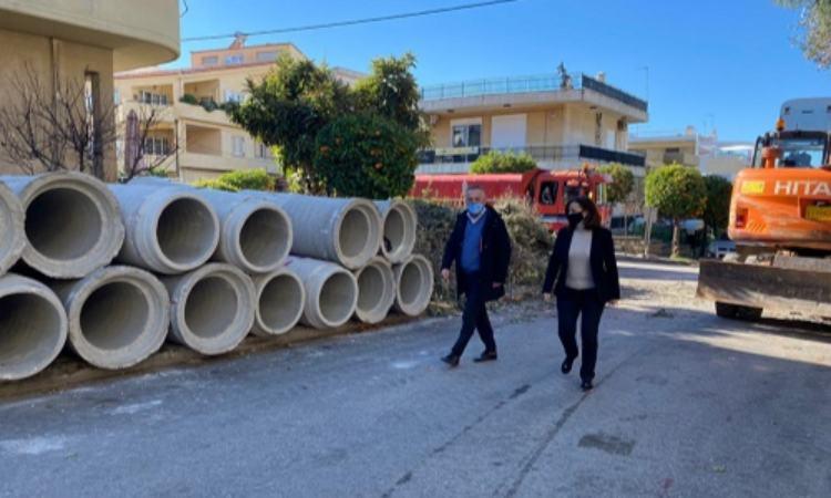 Έργο αντιπλημμυρικής θωράκισης στον Δήμο Παπάγου-Χολαργού προϋπολογισμού 4.154.000 ευρώ