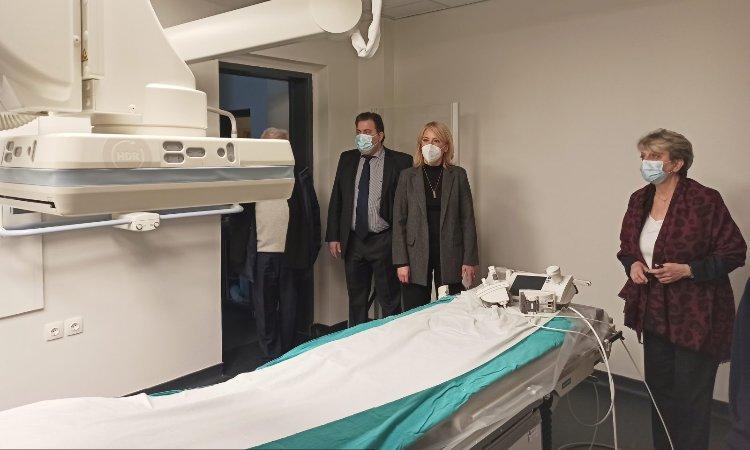 Επίσκεψη Ρ. Δούρου στο «Τζάνειο» Νοσοκομείο