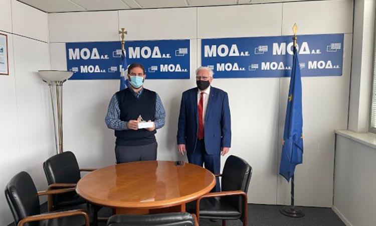 Τηλεδιάσκεψη σε συνεργασία με τη ΜΟΔ και τον πρόεδρο Γ. Παπαδημητρίου ετοιμάζει ο Π. Ιωάννου