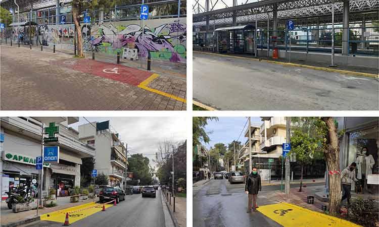 Νέες θέσεις στάθμευσης ειδικές για ΑμεΑ στον Δήμο Ηρακλείου Αττικής