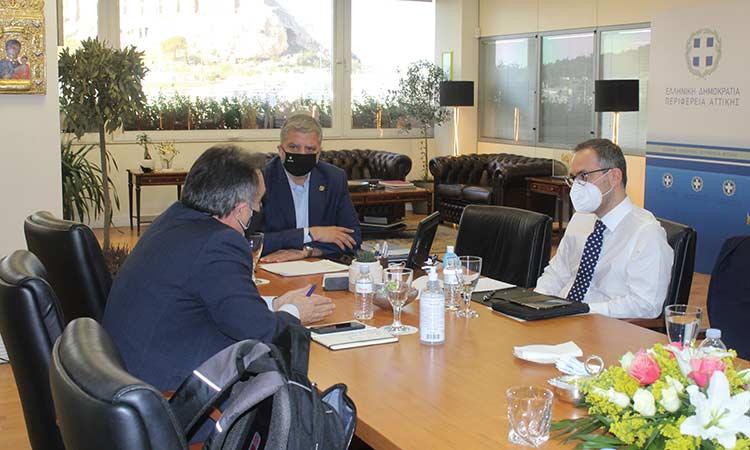 Ότι πρέπει να υπογειοποιηθούν καλώδια της ΔΕΗ συμφώνησαν Γ. Πατούλης και διοίκηση ΔΕΔΔΗΕ