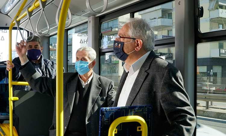 3 νέα λεωφορεία στον στόλο της Δημοτικής Συγκοινωνίας Αμαρουσίου