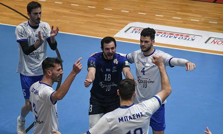 Volley League: «Εκρηκτική» εμφάνιση από την Κηφισιά –  Κέρδισε τον Φίλιππο με 3-0 σετ