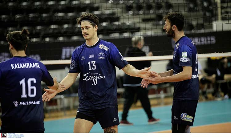 Volley League: Η Κηφισιά κέρδισε τον «λαβωμένο» ΠΑΟΚ με 3-1