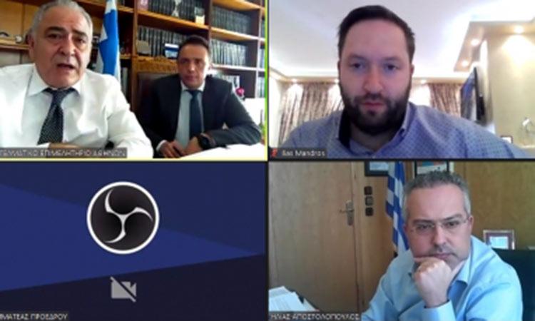 Διαδικτυακή ενημέρωση του Δήμου Παπάγου-Χολαργού από το ΕΕΑ για τη δράση «e-λιανικό»