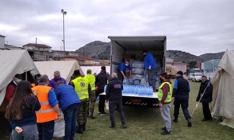 Η Περιφέρεια Αττικής πρόσφερε βοήθεια στη Θεσσαλία μετά τη δοκιμασία του σεισμού